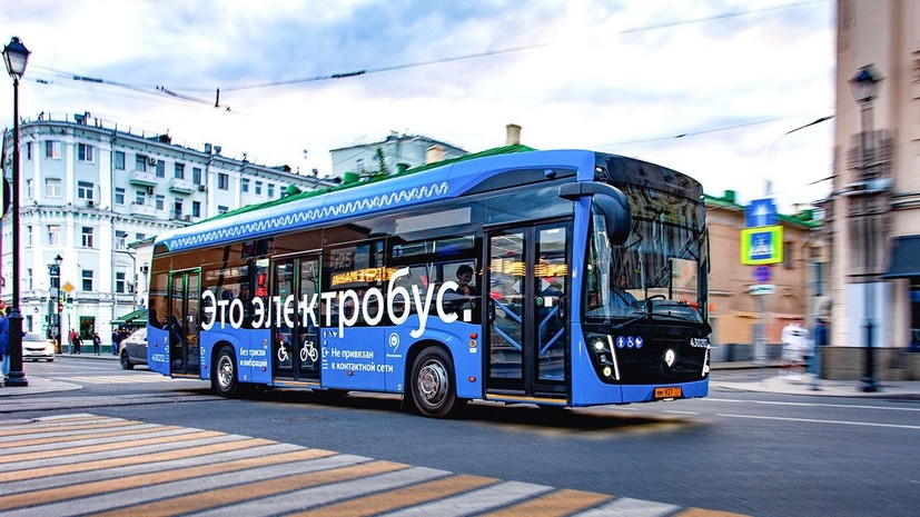 Число электробусов в Москве вырастет до 600 до конца 2020 года