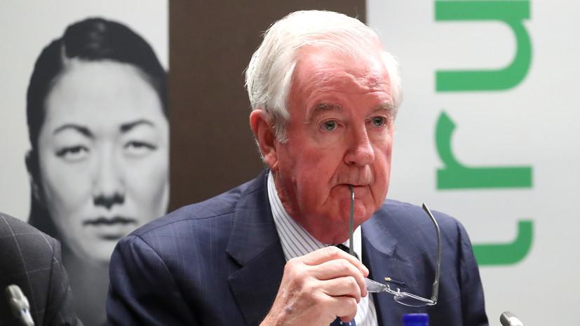 Глава WADA рассказал, почему россиян полностью не отстранили от спортивных соревнований
