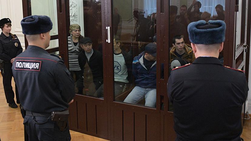 От 19 лет до пожизненного: фигуранты дела о теракте в петербургском метро получили тюремные сроки