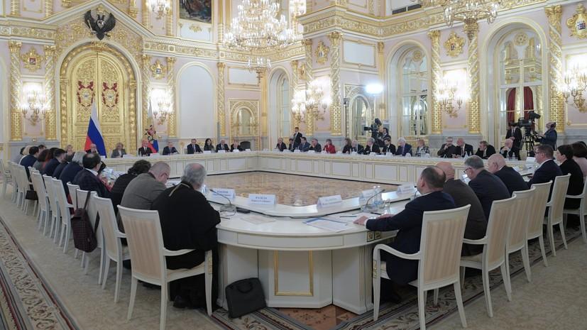 Протесты в рамках закона, хамство чиновников и внимание к ветеранам: о чём Путин говорил на заседании СПЧ
