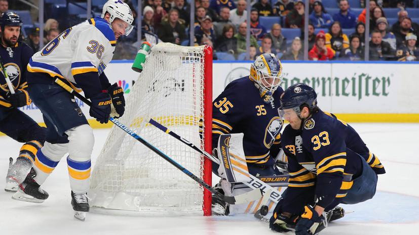 «Сент-Луис» потерпел третье подряд поражение в НХЛ, несмотря на передачу Барбашёва