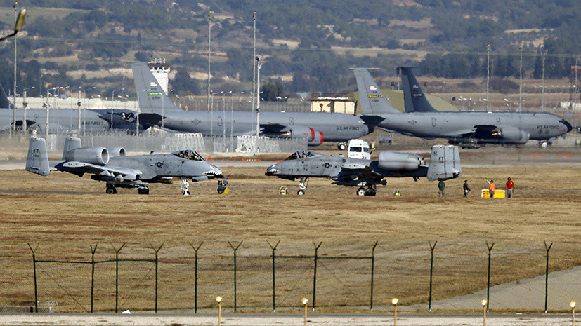 В случае санкций из-за С-400: Турция не исключила закрытия базы Инджирлик для США