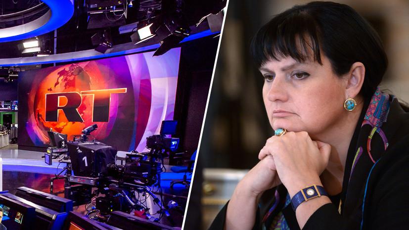 Известный журналист Елена Масюк присоединилась к команде RT