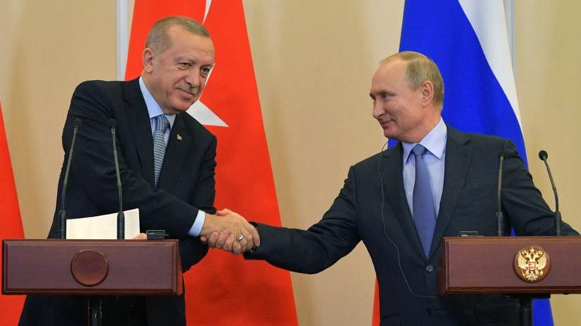 В Кремле рассказали подробности разговора Путина с Эрдоганом