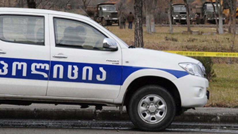 В МВД Грузии заявили о задержании 12 человек на акции в Тбилиси