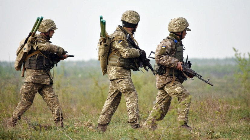 В ЛНР заявили о столкновениях военных ВСУ с националистами