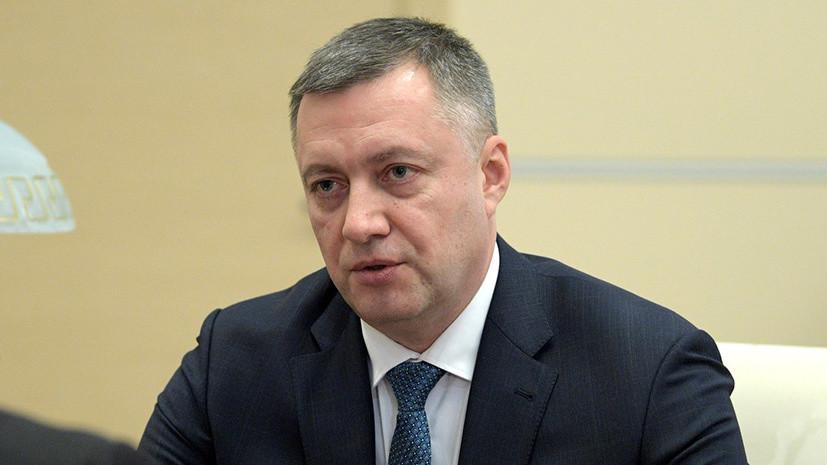 Врио губернатора Приангарья Кобзев прибыл в Иркутск