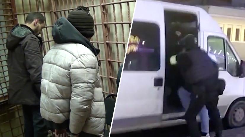 Нашли автомат, пистолет и бомбу: ФСБ задержала пятерых боевиков ИГ в Москве