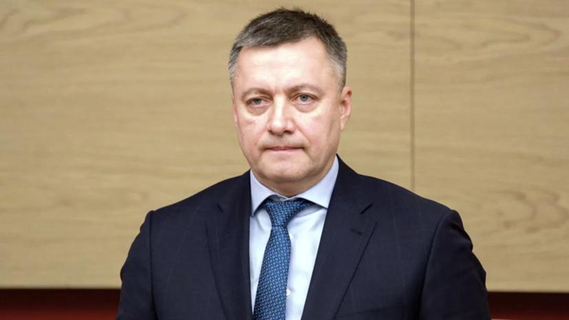 Врио губернатора Приангарья Кобзев посетил Тулун