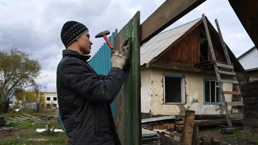 Власти Иркутской области назвали срок ликвидации последствий паводка