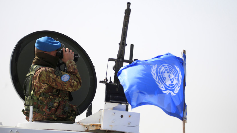 В Киеве не исключили возможности введения миротворцев ООН в Донбасс