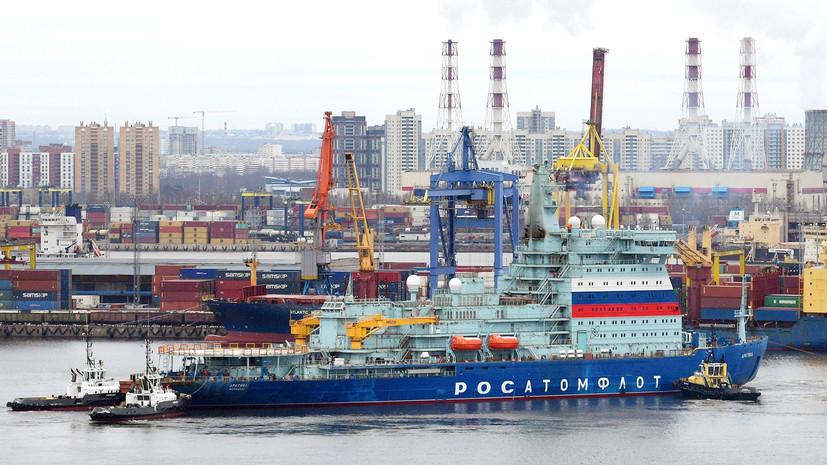 Флагман Заполярья: российский атомный ледокол «Арктика» завершил первый этап ходовых испытаний
