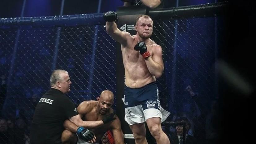Шлеменко досрочно победил Бранча на турнире в Екатеринбурге