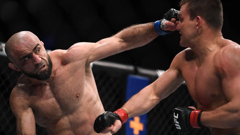 Россиянин Ахмедов победил Хейниша на турнире UFC 245