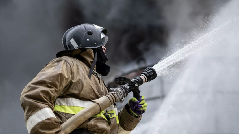 В Подмосковье при пожаре в жилом доме пострадали четыре человека