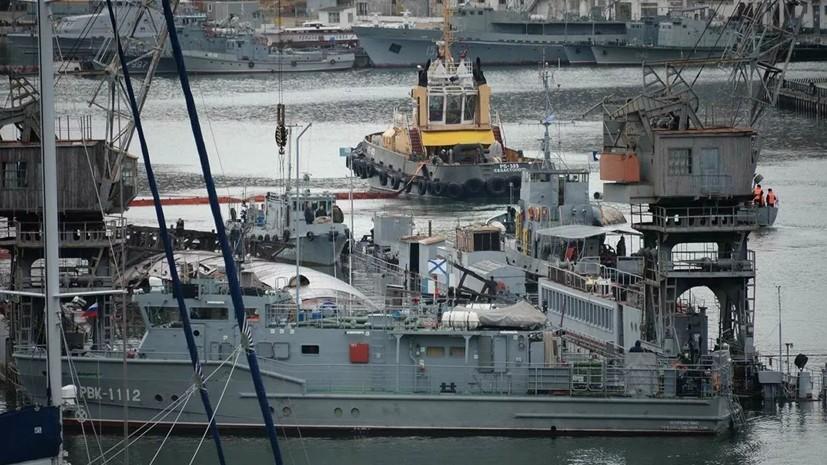 В Севастополе готовятся к буксировке затонувшего плавдока с подлодкой