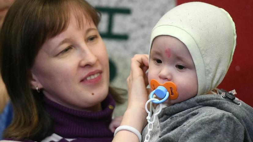 Спасённый из-под завалов в Магнитогорске младенец прошёл реабилитацию