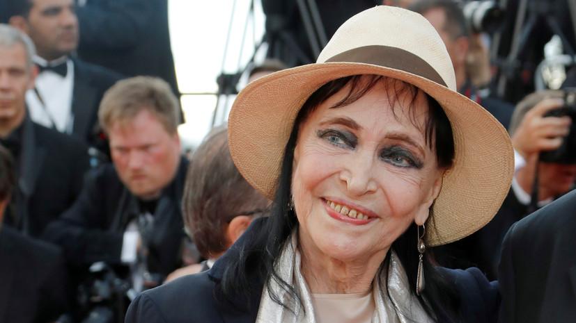Во Франции умерла актриса Анна Карина