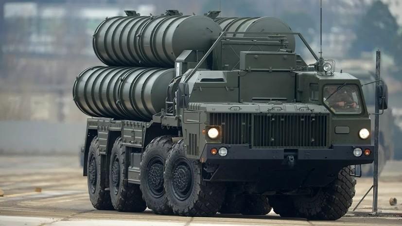 С-400 поступили на вооружение зенитного полка в Ленинградской области