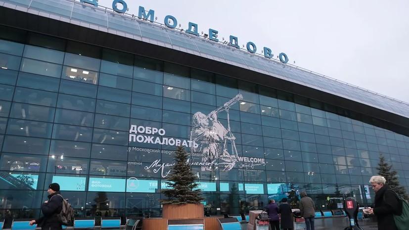 Источник: в Домодедове задержали пассажира из-за угроз взорвать гранату