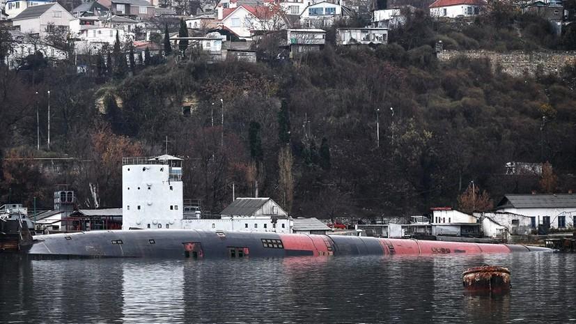 Затонувшую в Севастополе подлодку отправят на утилизацию 16 декабря