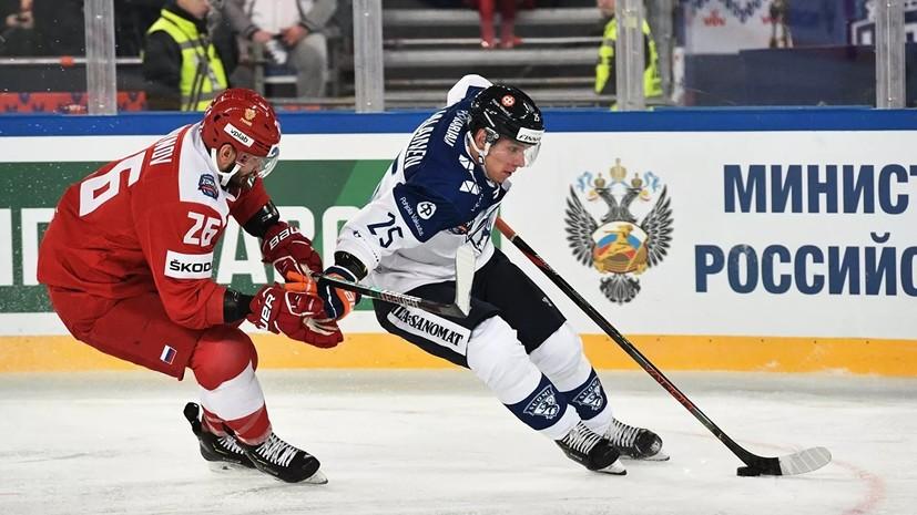 Хоккейный матч сборных России и Финляндии посетили почти 68 тысяч болельщиков