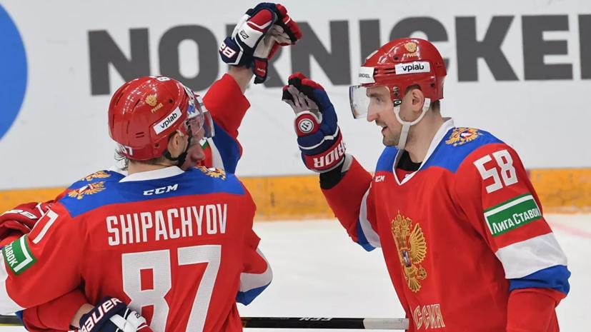 Слепышев отметил атмосферу на матче Кубка Первого канала с Финляндией