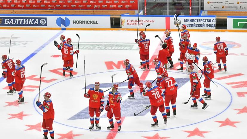 Каменский: сборная России на Кубке Первого канала прибавляла от матча к матчу