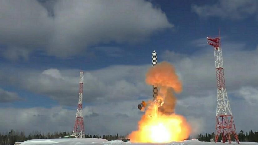 РВСН сообщили о начале подготовки к перевооружению на систему «Сармат»