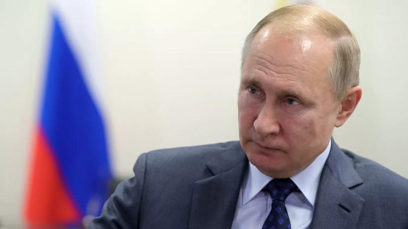 Путин заявил об укреплении позиций России на мировом рынке вооружений