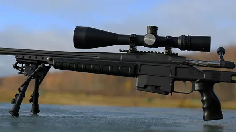 Россия поставила за границу винтовки Т-5000 на сумму 100 млн рублей