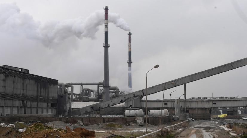 Россия восстановила работу завода по производству удобренийв Сирии