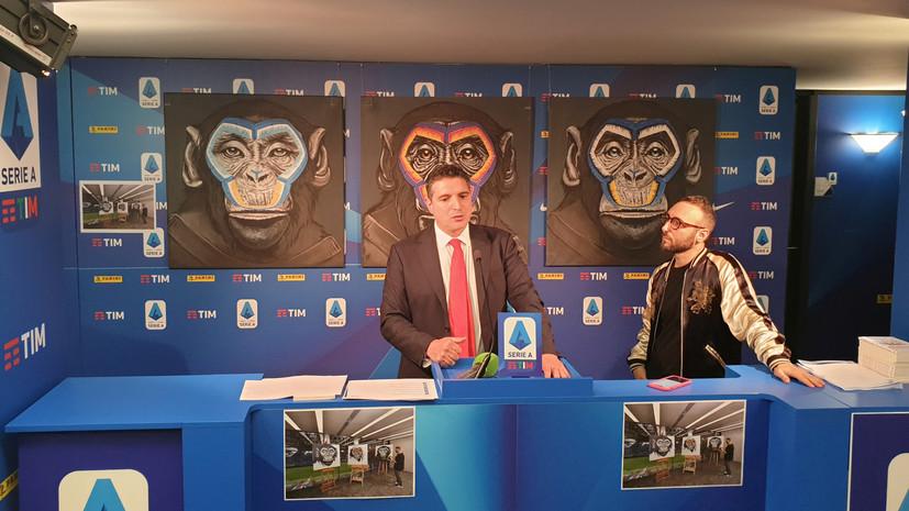 «Вызывают чувство стыда»: в клубах Серии А раскритиковали антирасистские картины с изображением обезьян