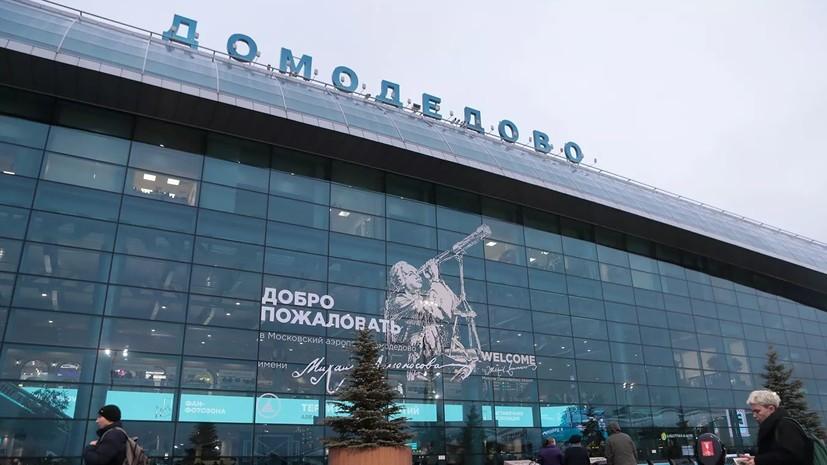 В аэропорту Домодедово задержали около 40 граждан Израиля