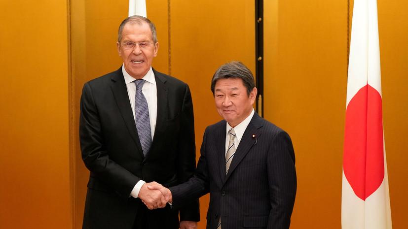 Главы МИД России и Японии встретятся 19 декабря