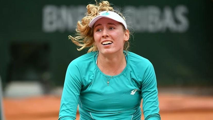 Александрова обыграла Никулеску в первом круге теннисного турнира в Лиможе