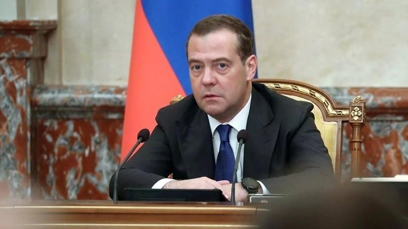 Медведев провёл переговоры с премьер-министром Белоруссии