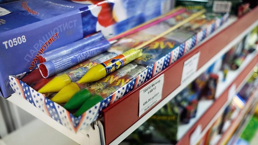 В Татарстане начали проверять места продажи пиротехники