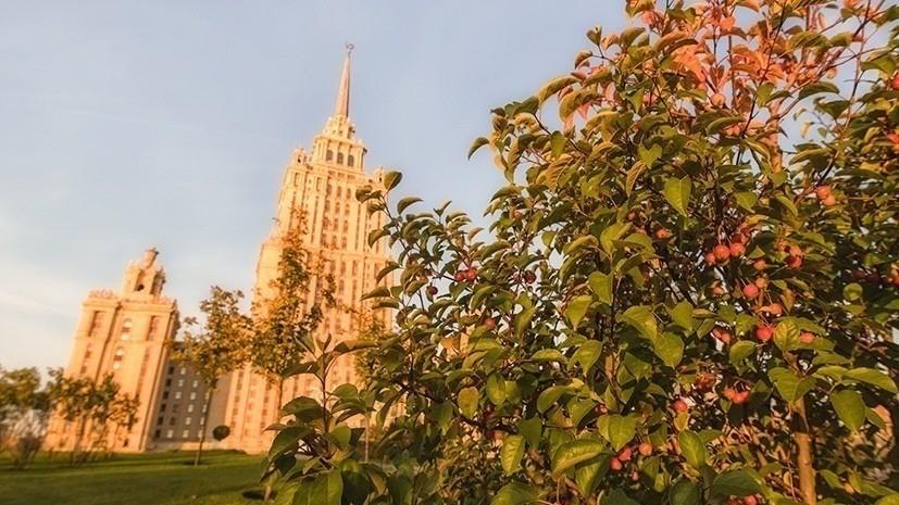 В Москве установлен абсолютный температурный рекорд