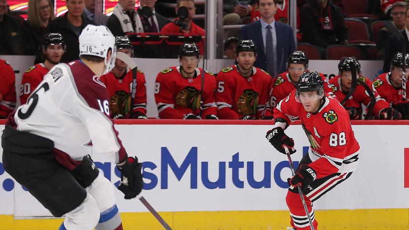Результативный пас Задорова помог «Колорадо» победить «Чикаго» в матче НХЛ