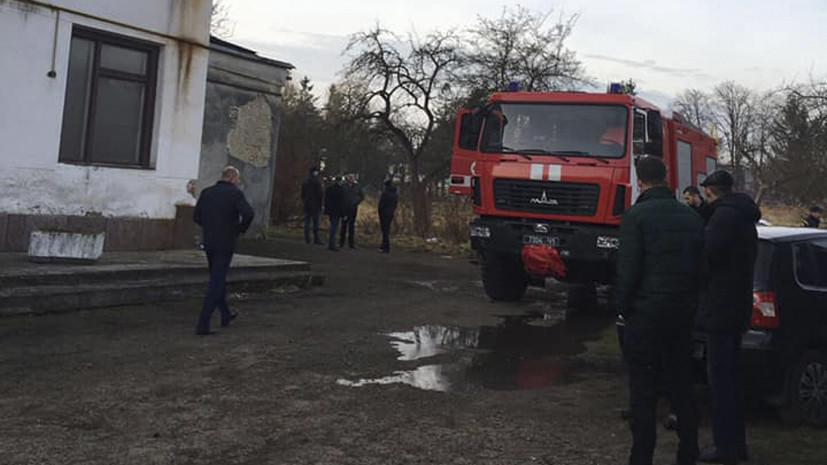 Во Львовской области подожгли редакцию газеты