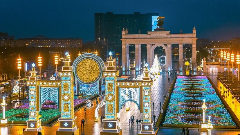 В Москве рассказали о праздничном оформлении территории ВДНХ