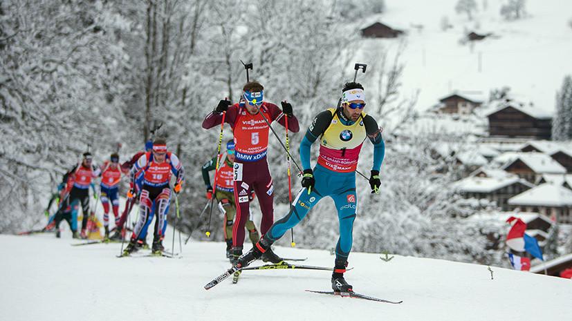 Нехватка скорости: россияне не попали в топ-10 в мужском спринте на этапе КМ по биатлону в Анси