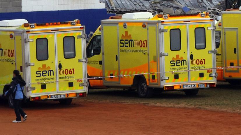 При пожаре у собора в Барселоне пострадали 26 человек
