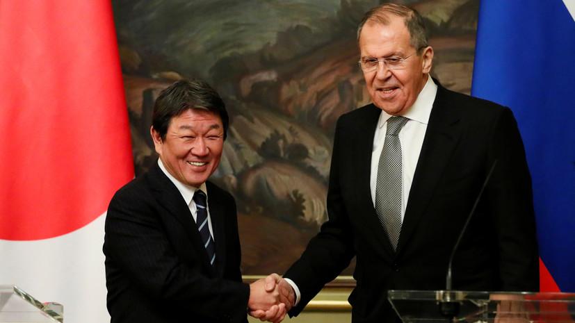 Москва и Токио обновили соглашение о предотвращении инцидентов на море и в воздухе