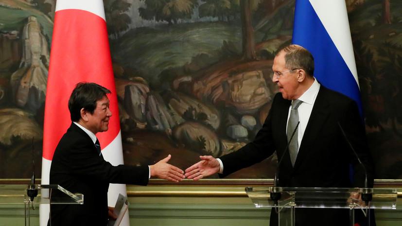 Главы МИД России и Японии обсудили создание сегмента системы ПРО США
