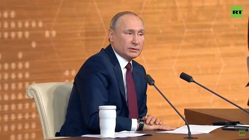 Путин ответил на вопрос об исторической личности