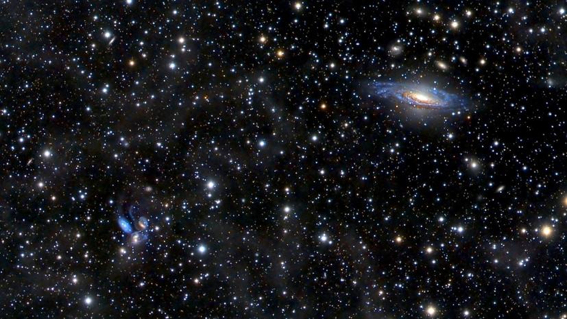 Космическая загадка: учёные зафиксировали три сигнала из области возможного слияния чёрной дыры и нейтронной звезды