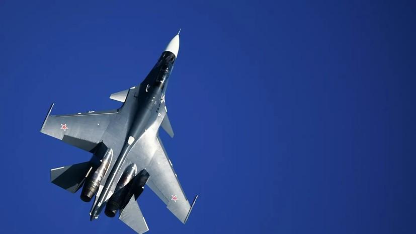 Лётчики Черноморского флота провели учебные дуэли в небе над Крымом