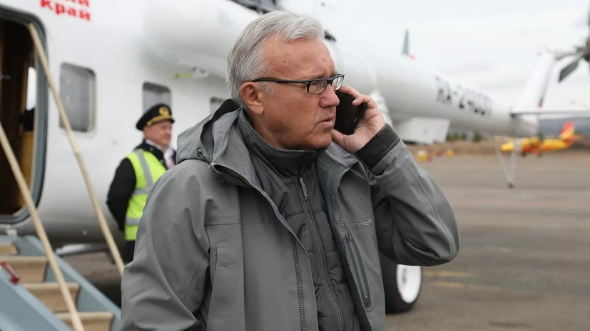 Глава Красноярского края высказался об экологии в регионе